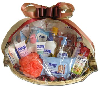 Israel Spa Basket (PB14) Dr. Fisher New Born Gift Fasket