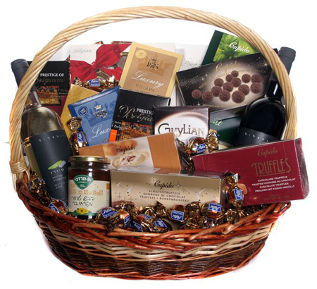 Israel Chocolate Baskets (pc15) King Size Candy basket