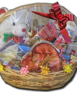 Israel Chocolate Baskets (PC16) Teddy Bear Basket!