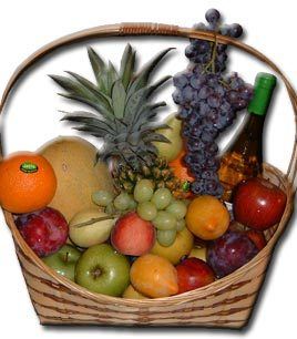 Israel Condolences Basket (PF5) Fruit Basket