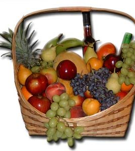 Israel Condolences Basket (PF7) King size Fruit Basket