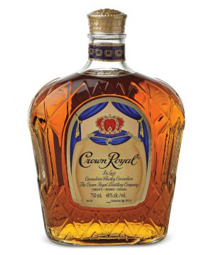(W14) whiskey crown royal