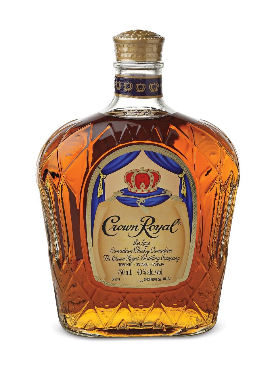 (W14) whiskey crown royal
