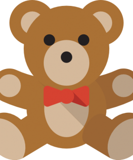 Shopping cart add on Teddy Bear