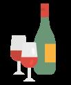 Shopping cart add on Wine